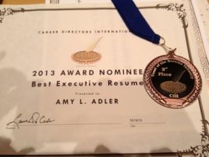 Amy L. Adler wins 2013 Global TORI Award