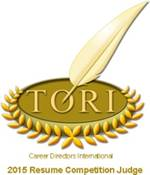 TORI Judge 2015, , Salt Lake City Resume Writing Service