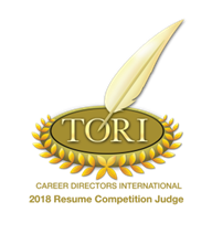 TORI Judge 2018, , Salt Lake City Resume Writing Service